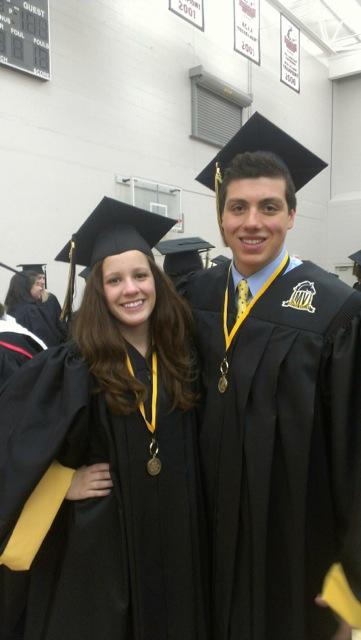 Nick and Megan Graduation