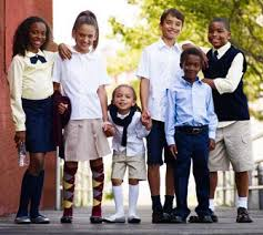 Popular clothing company H&M now offers a line of clothing that meets school uniform requirements.