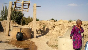 Faryab-_village_dug_well