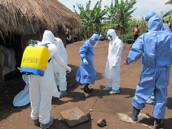 2012 investigation of Ebola virus in Uganda. Image from cdc.gov