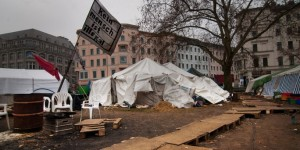 Flüchtlings-Camp am Oranienplatz