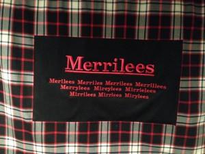 Copyrighted Merrilees Tartan