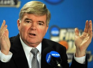 NCAA President Mark Emmert needs to change the recruiting system and fast. (photo courtesy USA-Today)
