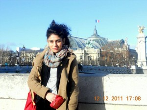 In Paris, France during an internship at the Parliament