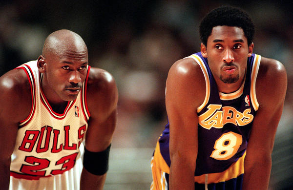 Jordan and Bryant were compared as players and continue to be compared off the court, today (photo credit Slam Online)