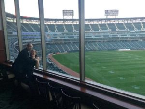 Attending a wedding at Guaranteed Rate Field!